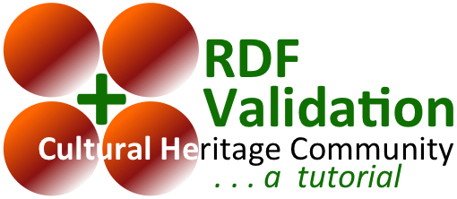 RDF Validation: Cultural Heritage Community